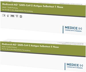 Medicovid Antigen-Selbsttests
